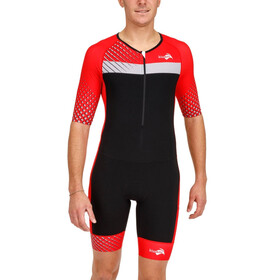 KiWAMi Prima LD Aero Suit Unisex black/red